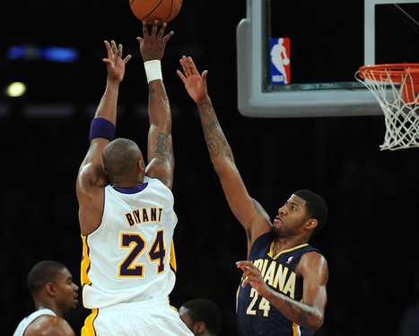 Paul George Says Kobe Bryant Is A Source Of Motivation | Lakers ... | Self directed learning | Scoop.it