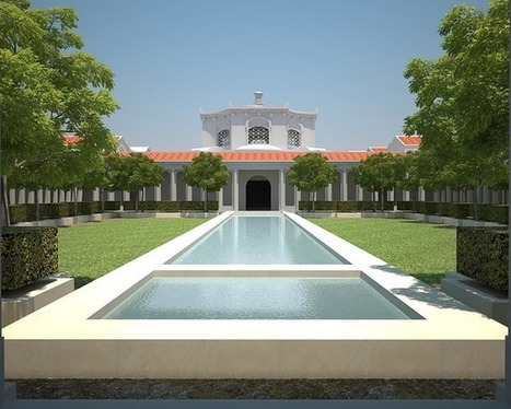 3D Simulation Brings Ancient Roman Imperial Villa to Life - Science World Report | Immersive World Technology | Scoop.it