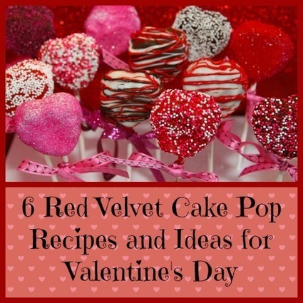 6 Red Velvet Cake Pop Recipes and Ideas for Valentine's Day | Homemaking | Scoop.it