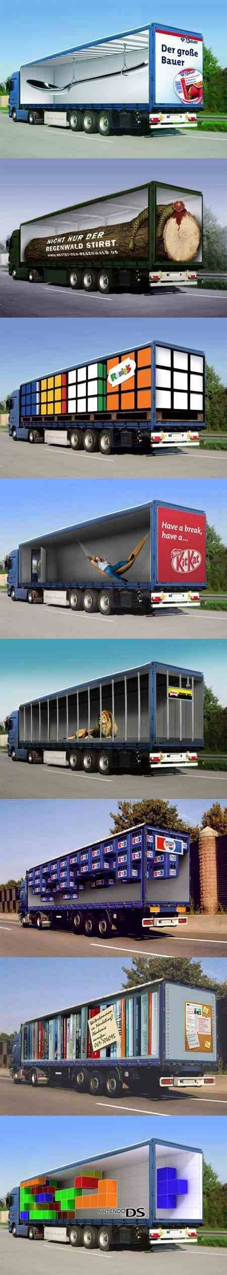 Fantastic Truck Advertising | Creation News | Scoop.it
