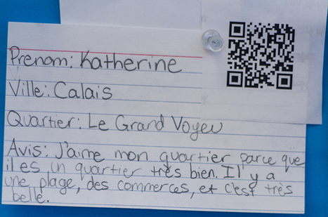 2 Simple Ways To Use QR Codes In Education - Edudemic | Into the Driver's Seat | Scoop.it
