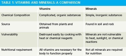 Vitamins and Minerals Explained | Supplements Today | Scoop.it