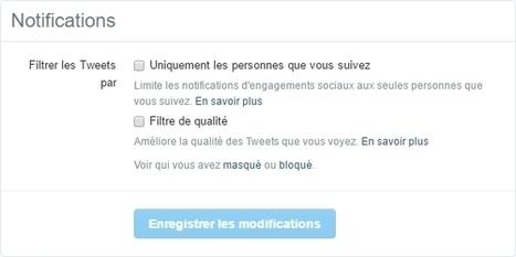 Twitter : 2 nouveaux outils pour se protéger du harcèlement et du SPAM - Blog du Modérateur | François MAGNAN  Formateur Consultant | Scoop.it