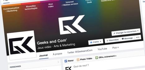 Nouvelle page Facebook : toutes les dimensions à connaître (images et publicités) - Geeks and Com' | Ecriture | Scoop.it