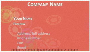 How to Make Business Card in Word with Template | Free Printable Template to Download | Scoop.it