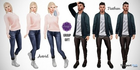 Poses For Men and Women Group Gift by Purple Poses | Teleport Hub - Second Life Freebies | Second Life Freebies | Scoop.it
