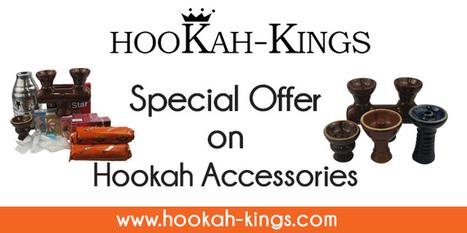 Hookah Accessories - Clay bowls , Grommets , Filters , Wind Cover Hookah... | Hookah Online | Scoop.it