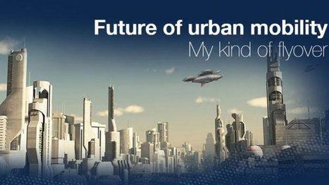 """Des taxis volants bientôt dans nos villes?   La veille """"Déplacements"""" de l'agence d'urbanisme de la région grenobloise   Scoop.it"""