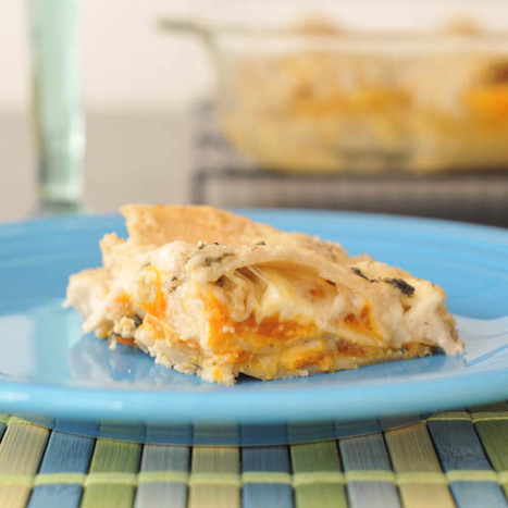 roasted butternut lasagna with crispy sage | Food for Foodies | Scoop.it