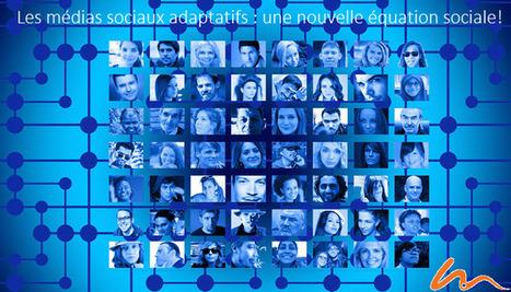 Les médias sociaux adaptatifs : une nouvelle équation sociale! | Présence 2.0 | Scoop.it