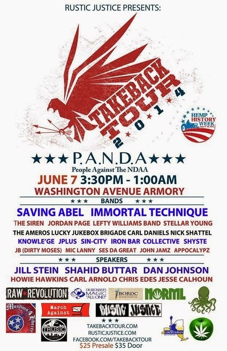 "Activist Post: Anti-NDAA ""Take Back Concert Tour"" Comes to Albany, New York June 7th 