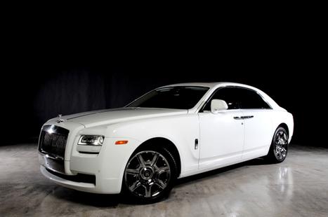 Rent Rolls Royce Ghost car in Miami | Car Rentals | Scoop.it