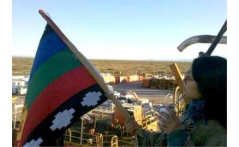 Mapuches ocupan pozos en rechazo al acuerdo con Chevron   Protesta mapuche contra Chevron   Scoop.it