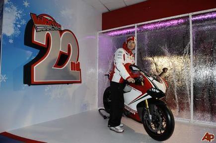 Nicky Hayden | WROOM | AP Photo/Luca Bruno | Ductalk Ducati News | Scoop.it