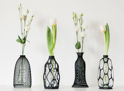 Des vases imprimés en 3D pour offrir une seconde vie aux bouteilles plastiques   Eco-conception   Scoop.it