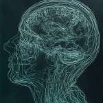 Layered MRI Self-Portraits Engraved in Glass Sheets by Angela Palmer | Colossal | Artwork for The Brain | Scoop.it