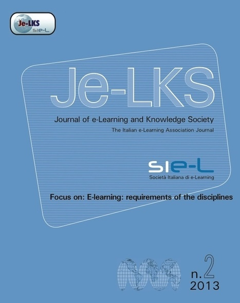 Journal of e-Learning and Knowledge Management | E-Learning Methodology | Scoop.it