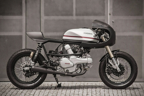 Custom 1987 Ducati Pantah 350 | Gessato Blog | Ductalk Ducati News | Scoop.it