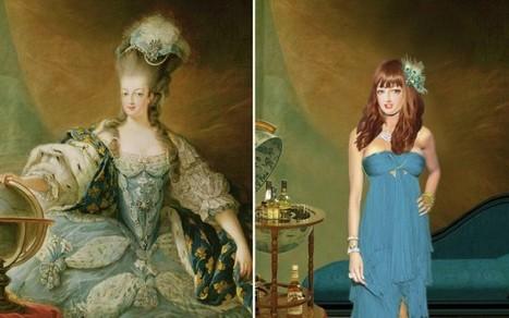 RELOOKING – A quoi ressemblerait Marie-Antoinette aujourd'hui ?   Présent & Futur, Social, Geek et Numérique   Scoop.it