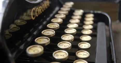 10 escritores famosos que siguen usando pluma y viejas máquinas para crear sus obras | Libro blanco | Lecturas | Scoop.it