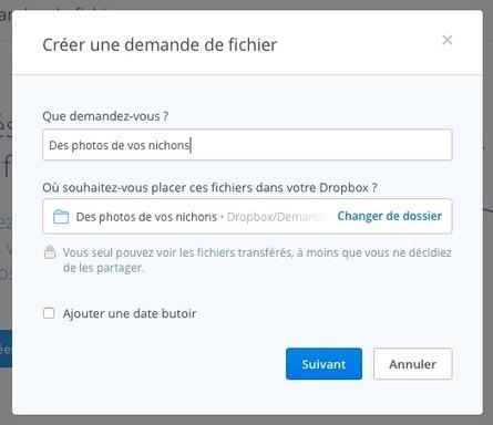 Comment recevoir des fichiers directement dans votre #Dropbox | Communication et réseaux | Scoop.it