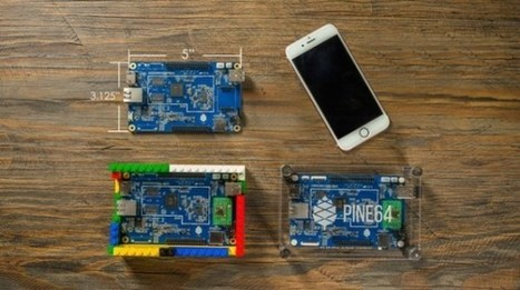 $15 Pine A64 is trying to be a faster, 64-bit Raspberry Pi | Chips | Geek.com | Tools You Can Use | Scoop.it