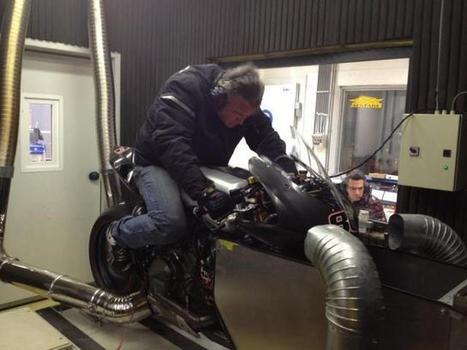 WSBK Panigale on bench [VIDEO]   Ducati news   Scoop.it
