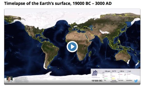 Watch our planet evolve, from the last ice age to 1000 years in the future | Lorraine's Environmental Change &  Management | Scoop.it