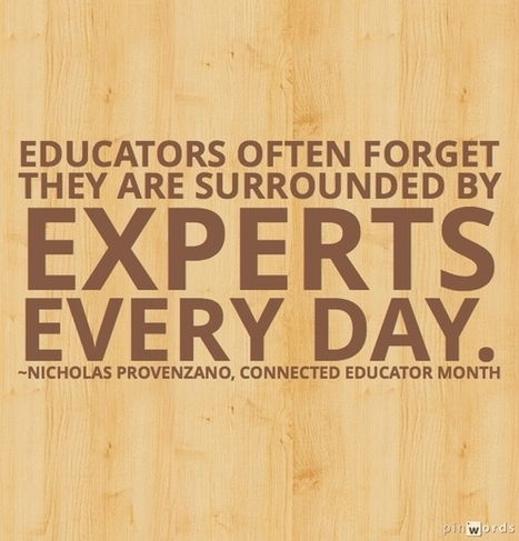 3 Nondigital Ways to Become a Connected Educator | Online Teacher Underground | Scoop.it