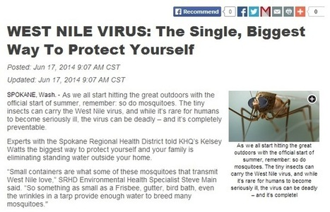 A Walk-in Clinic on the North Side of Spokane Can Treat West Nile   U.S. HealthWorks Spokane (North Side)   Scoop.it
