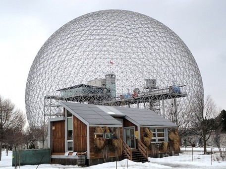 Montreal's Biosphere Environmental Museum Resides Inside Massive Buckminster Fuller Geodesic Dome | Top CAD Experts updates | Scoop.it
