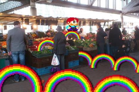 5 fruits, 5 légumes et 5 jeux vidéos par  | pixelmentrouenjour | graphiste | Scoop.it