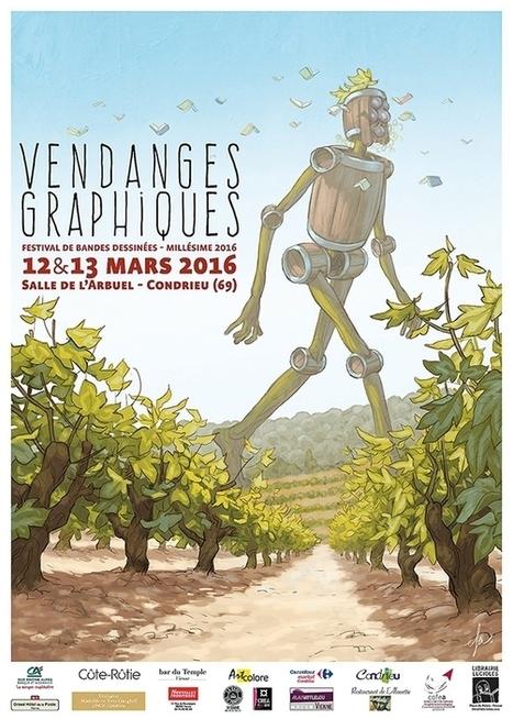 Quatrième cuvée pour les Vendanges graphiques de Condrieu | Le Vin et + encore | Scoop.it
