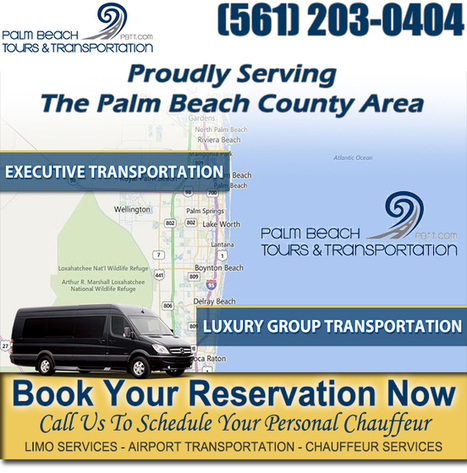 Business Transportation Boyton Beach | 561-203-0404 | Palm Beach Tours and Transportation | Scoop.it