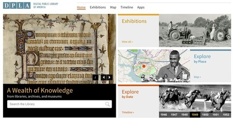 Free Technology for Teachers: Browse the Digital Public Library of America | Jenny's Mashup of Anything Library | Scoop.it