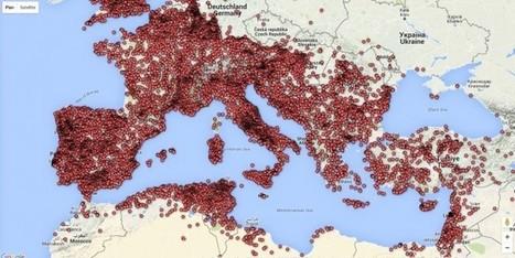 (Impressionnante) Google Maps des inscriptions romaines ! - Arrête ton char | ClioTweets | Scoop.it