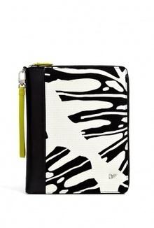 White Animal Leaf Canvas i-Pad Case by Diane von Furstenberg | Fun Videoa | Scoop.it