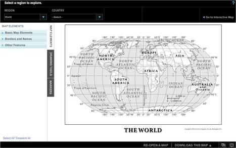 MapMaker-National Geographic Education | AprendiTIC | Scoop.it