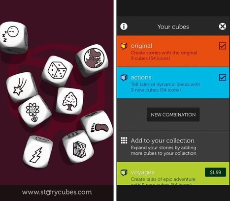 Rory's Story Cubes for iPhone and iPad review: Get writing inspiration from pictures on dice | iPhone 4 everyone | Язык сказки | Scoop.it