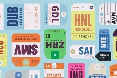 Actualité / Comment découvrir de nouvelles typographies ?  / étapes: design & culture visuelle | Typography, graphisme & curiosités graphiques | Scoop.it