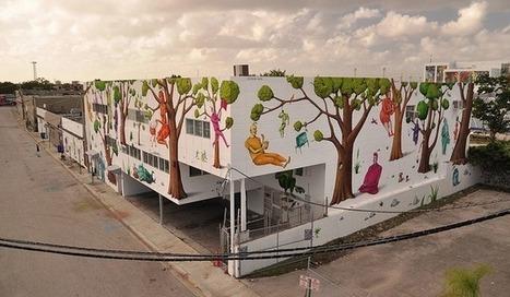 Un cuento de hadas en la pared | Diseño y más Creatividad | Scoop.it