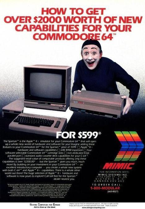 """5 anúncios """"vergonha alheia"""" de tecnologia dos anos 1980. Você teria """"sacadas"""" como essas para anunciar esses produtos   Science, Technology and Society   Scoop.it"""