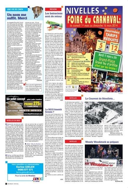 Vlan - L'Aclot 2014-03-05 - Le Woody Woodstock se prépare | Woody Woodstock - Revue de presse | Scoop.it