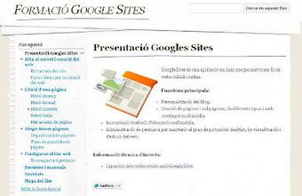 Aula Sant Feliu: Crea webs col·laboratives fàcilment amb Google Sites | google.docs | Scoop.it