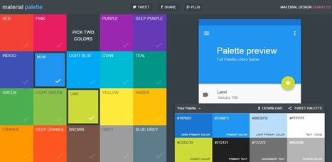 Les 5 plus beaux sites de couleurs - Wedia CrossMedia | WEB : ressources et infos | Scoop.it