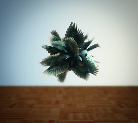 Spherical Harmonics, A Surreal Experimental Computer Animation | Machinimania | Scoop.it