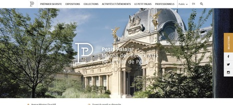 [DOSSIER CLIC] Nouveaux sites web de musées, centres de sciences et lieux de patrimoine en France (30/09/2016) | Clic France | Scoop.it