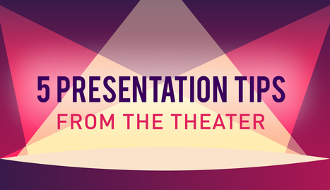 All the World's a Stage, Including Your Presentation: 5 Tips from the Theater | Psychology of Media & Technology | Scoop.it