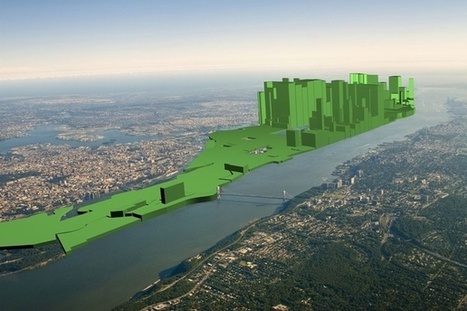Visualization of the Day: New York City's Wealth Gap, Mapped In 3D | Geography is my World | Scoop.it