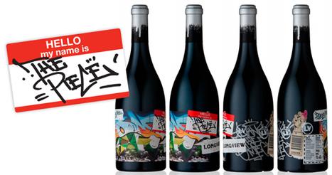 Le vin aussi se lance dans le Graffiti et le Street-Art : Skeuds, le blog ... | vin et société | Scoop.it